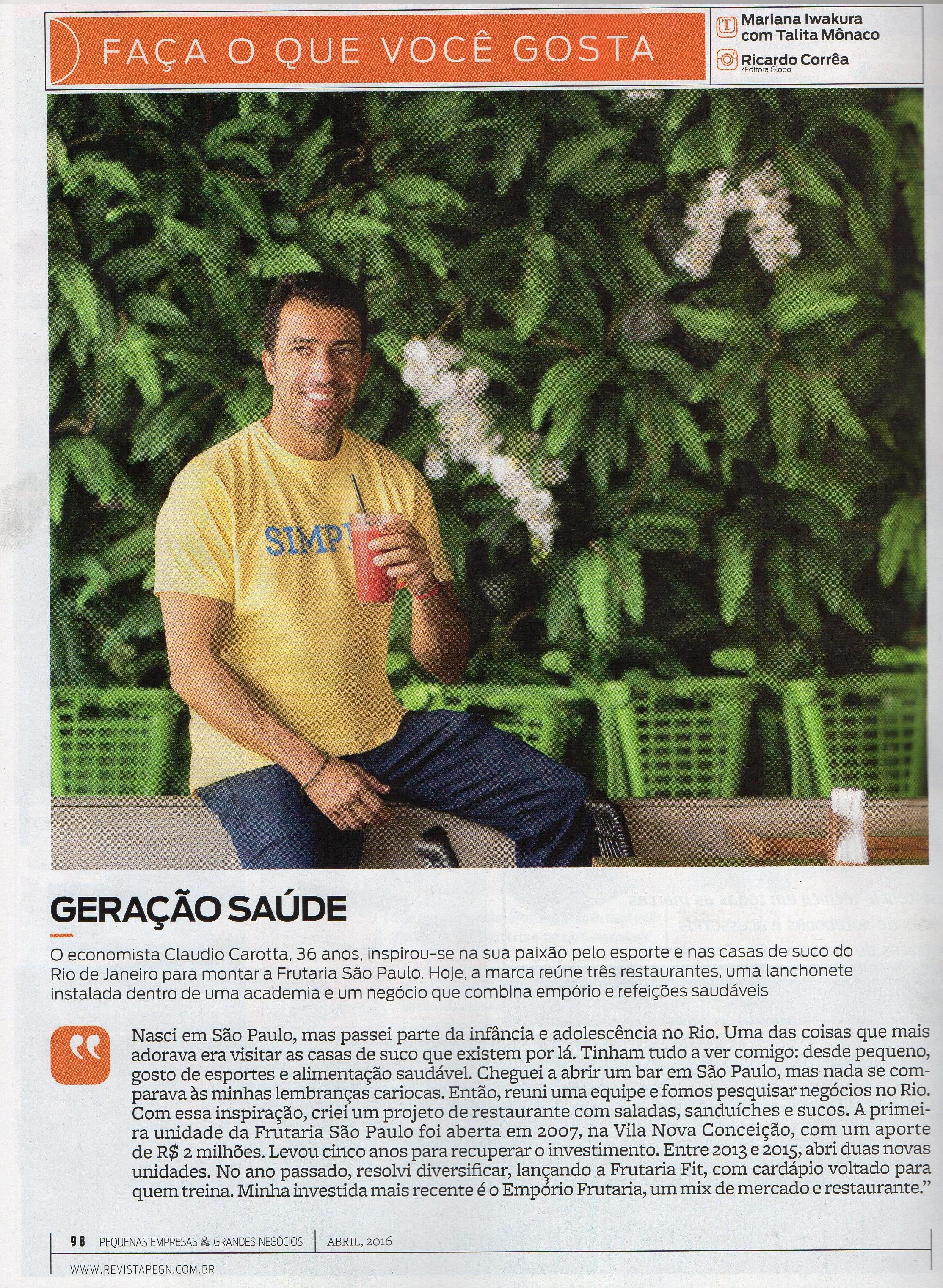 Pequenas Empresas Grandes Negócios Empório Frutaria 08 De Abril De 2016